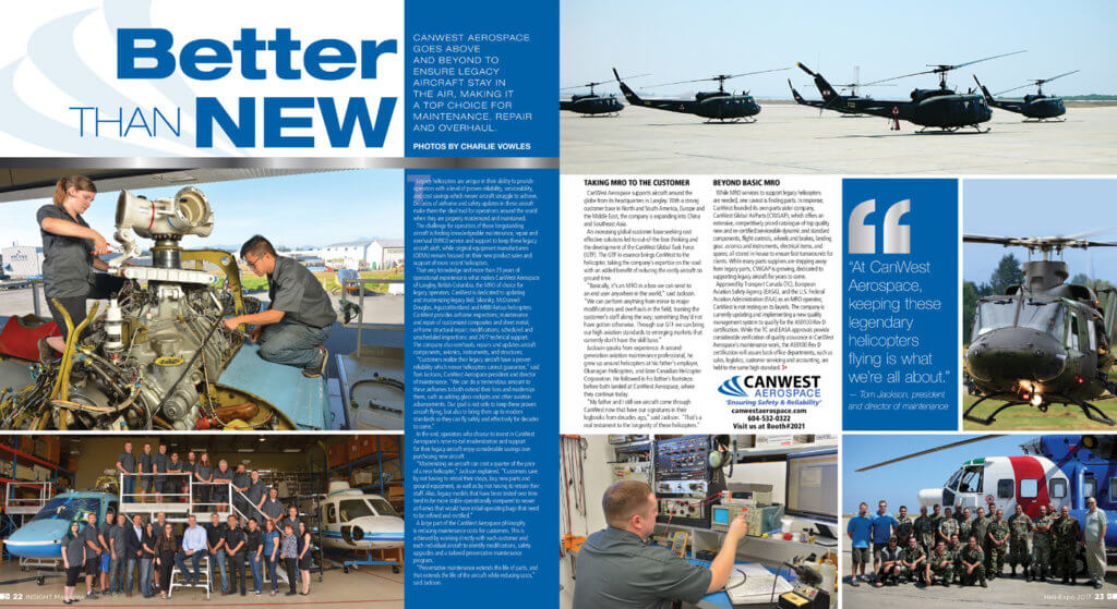 CanWest Insight profile