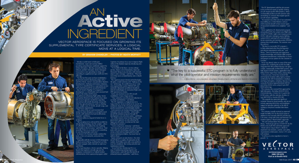 Vector Aerospace Insight profile