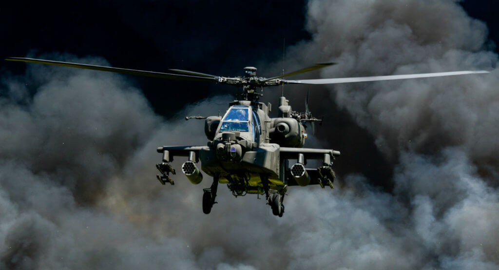 The requirement for an attack helicopter like a Boeing AH-64 Apache was identified in discussions with allies, especially the Netherlands, which found the capability critical to its operations Mali, Lang explained in an interview with Vertical. Tech. Sgt. Jorge Intriago Photo
