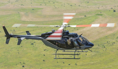 The Bell 407GXP is the second Bell Helicopter model China Southern Airlines General Aviation has put into operation, following its first Bell 407 in 2016. Bell Photo