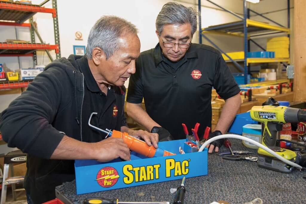 Start Pac's aircraft power supplies vary from 25 amps to 400 amps.