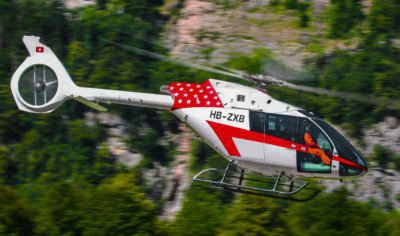 The Swiss-made single-turbine SH09 helicopter will be based in the Eggemoen Aviation and Technology Park, 60 kilometers North-West of Oslo. Eugen Burgler/MSH Photo