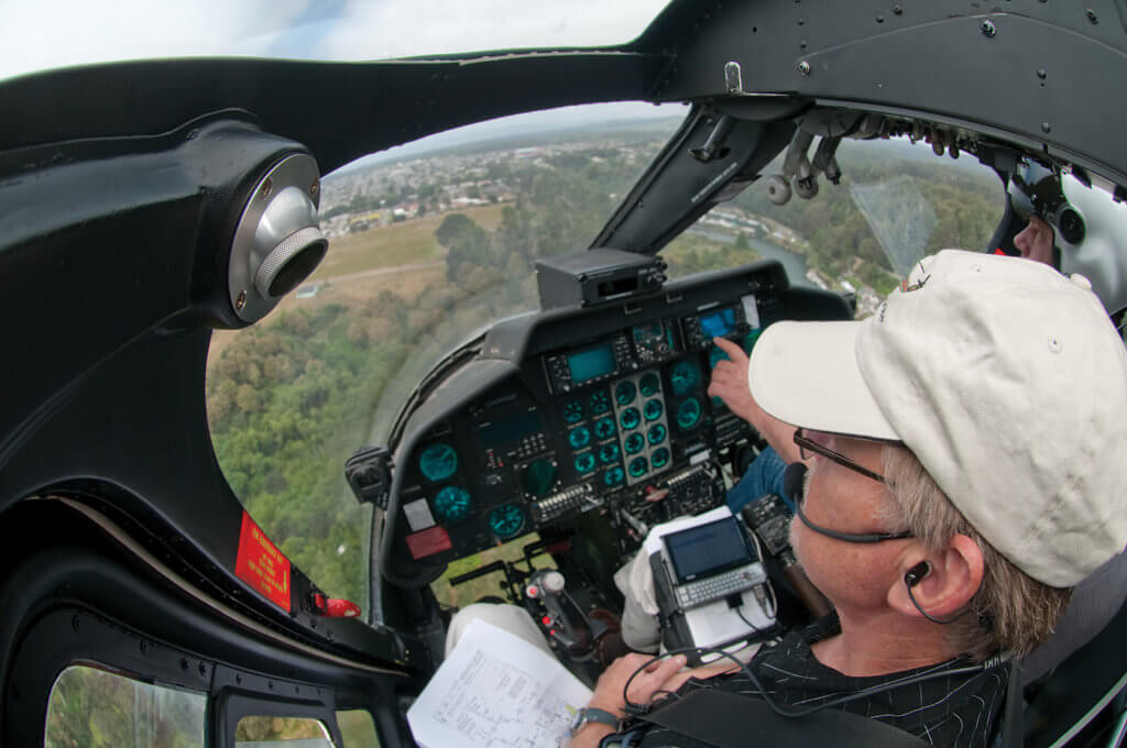 Hickok's entry into aviation came in 1975, when he joined the U.S. Army and learned how to fly helicopters. As an Army aviator, his experience with night vision goggles (NVGs) progressed from full faceplate to cutaway NVGs and finally ANVIS, and he knew firsthand their tremendous potential for increasing operational effectiveness and safety.