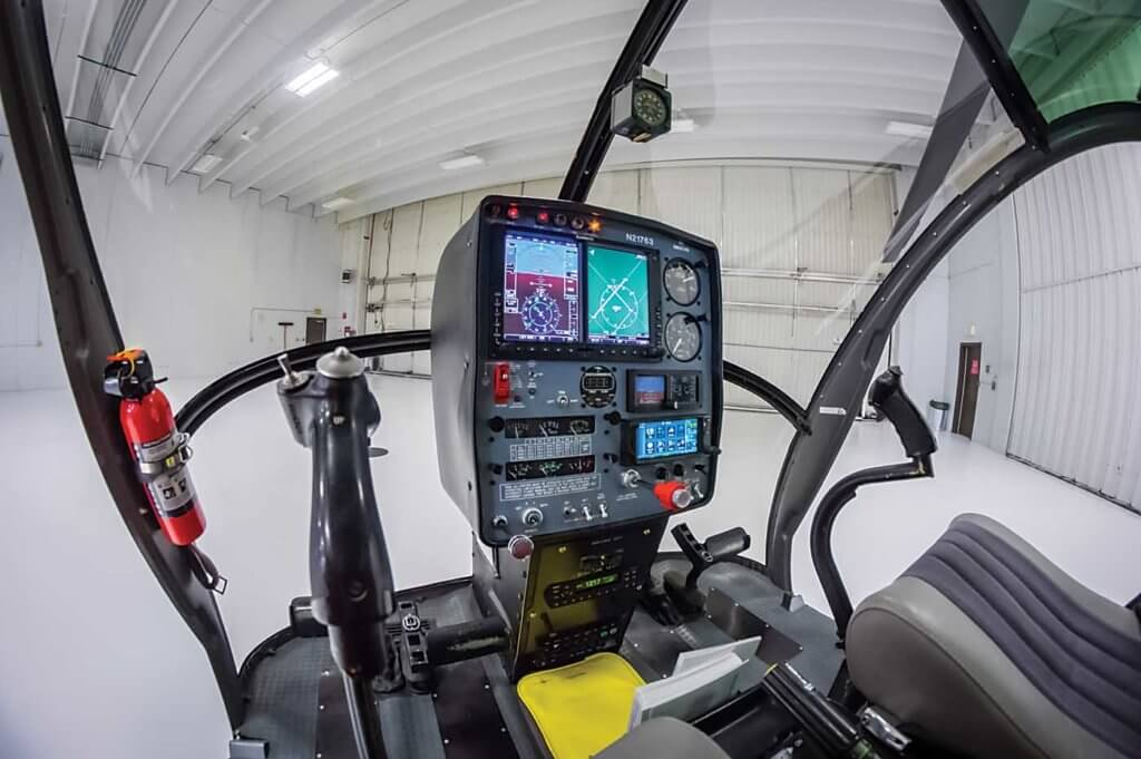 The UND developed a supplemental type certificate to outfit its S-300 fleet with the latest Garmin G500H avionics.