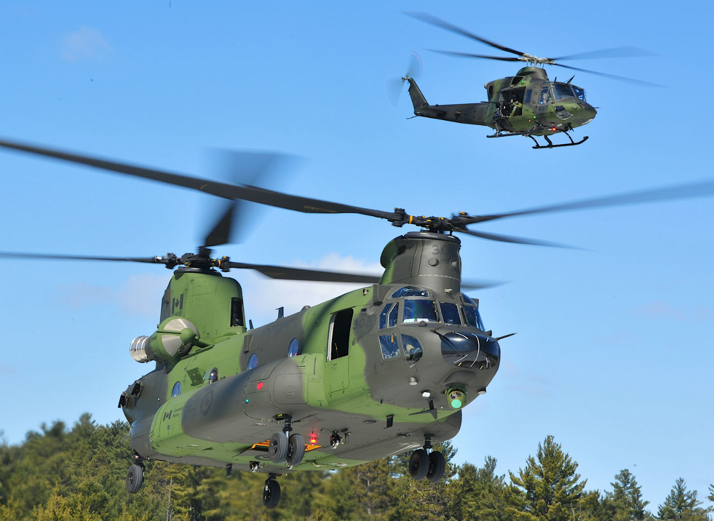 The Chinooks are essential to transport light infantry battalions and sustain troops throughout the battle space, and are steadily being integrated into the army's force employment concept. Mike Reyno Photo