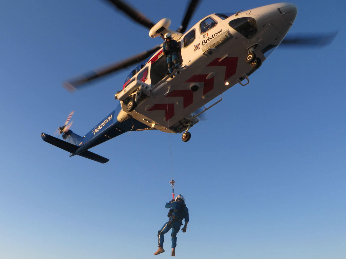 """Bristow has a long history of providing SAR capabilities around the world, with more than 65,000 SAR hours flown,"" said Bristow Americas regional director Samantha Willenbacher."