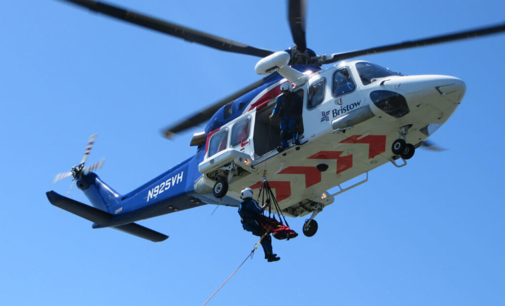 Bristow's new search-and-rescue consortium in the Gulf of Mexico aims to provide members with a cost-saving model for life-saving services. Bristow Photos