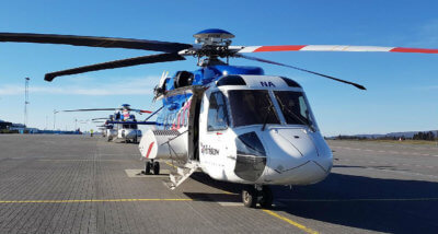 Services at both locations are operated using Sikorsky S-92 aircraft. Bristow Photo