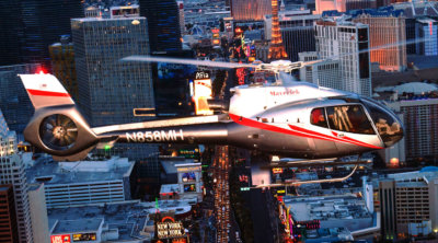 The 2017 award was presented to Maverick Helicopters for its quality aerial experiences over Las Vegas and the Grand Canyon and for making a positive impression upon concierge throughout the valley. Maverick Helicopters Photo