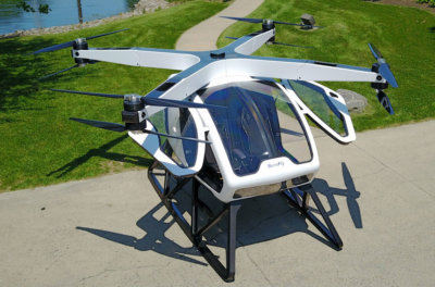 Workhorse plans to begin test flights this year and intends to achieve Federal Aviation Administration certification in late 2019. Workhorse Group Inc. Photo