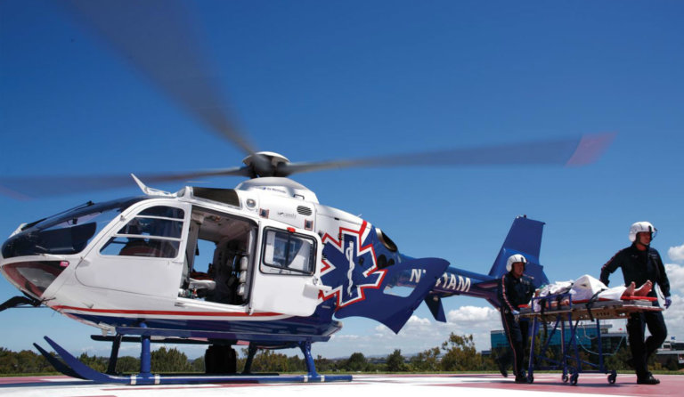 Air Methods delivers lifesaving care to more than 100,000 patients per year. Often the only choice for saving a life, air medical transport plays an essential role in safety in Colorado. Air Methods Photo