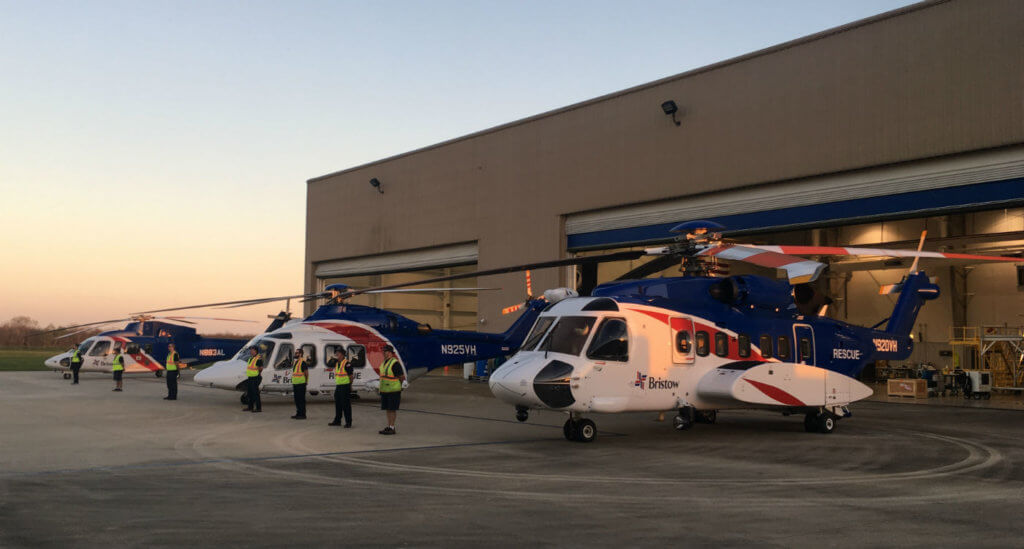 Based out Bristow's dedicated SAR facility at the South Lafourche Airport in Galliano, the consortium operates three different types of helicopters (Sikorsky S-76 C++, Sikorsky S-92 and a Leonardo AW139), available 24/7 for its members.