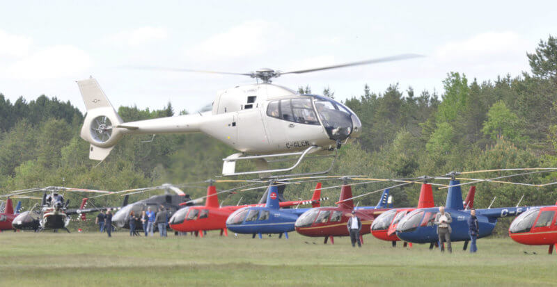 This year's fly-in attracted 53 helicopters, with Vertical meeting the owners of 40 aircraft on May 26 and 27, making it one of the largest private helicopter fly-ins in the world. Kenneth I Swartz Photos