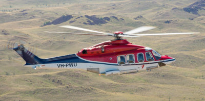 CHC will provide passenger transfer services to Quadrant's oil-and-gas installations on the North West Shelf using two Leonardo AW139s flying out of CHC's base in Karratha, Australia. CHC Photo
