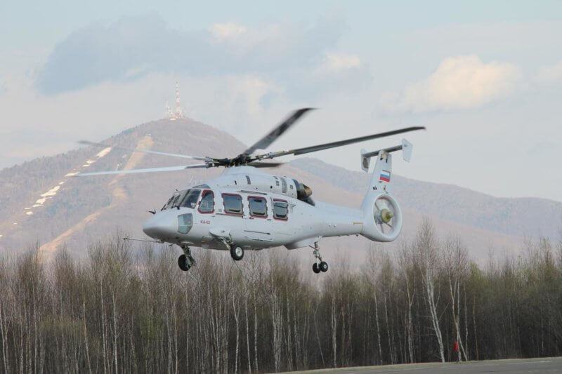 Kamov Ka-62 in flight