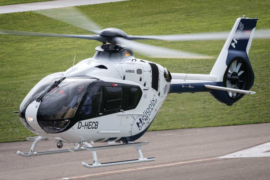 While Helionix is primarily an avionics upgrade, Airbus' change management program enabled the company to incorporate additional efficiencies in the H135, including in the forward transmission deck fairing. Lloyd Horgan Photo
