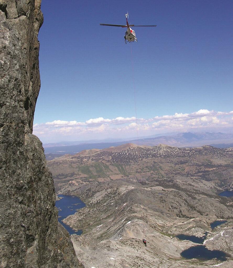 Conducting short-haul rescues on Yosemite's big walls can be nerve-wracking, said pilot Tim Lyons,