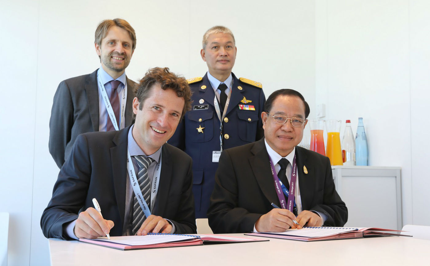 This MoU marks a new milestone between Safran and TAI after the signature earlier this year of a global support package to support Makila 2A1 engines operated by the Royal Thai Air Force. Safran Photo