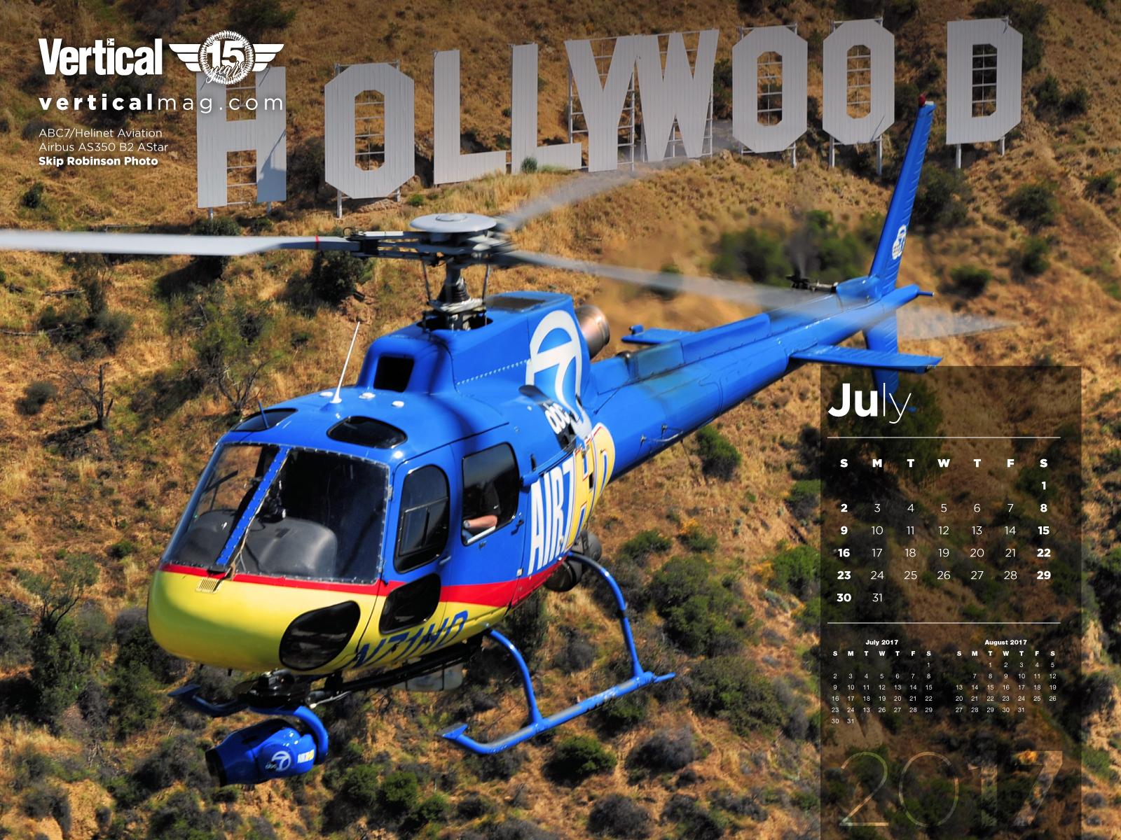 July calendars