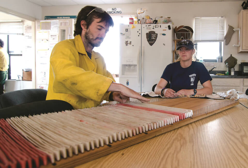Attention to detail is a must for Yosemite's SAR team members.