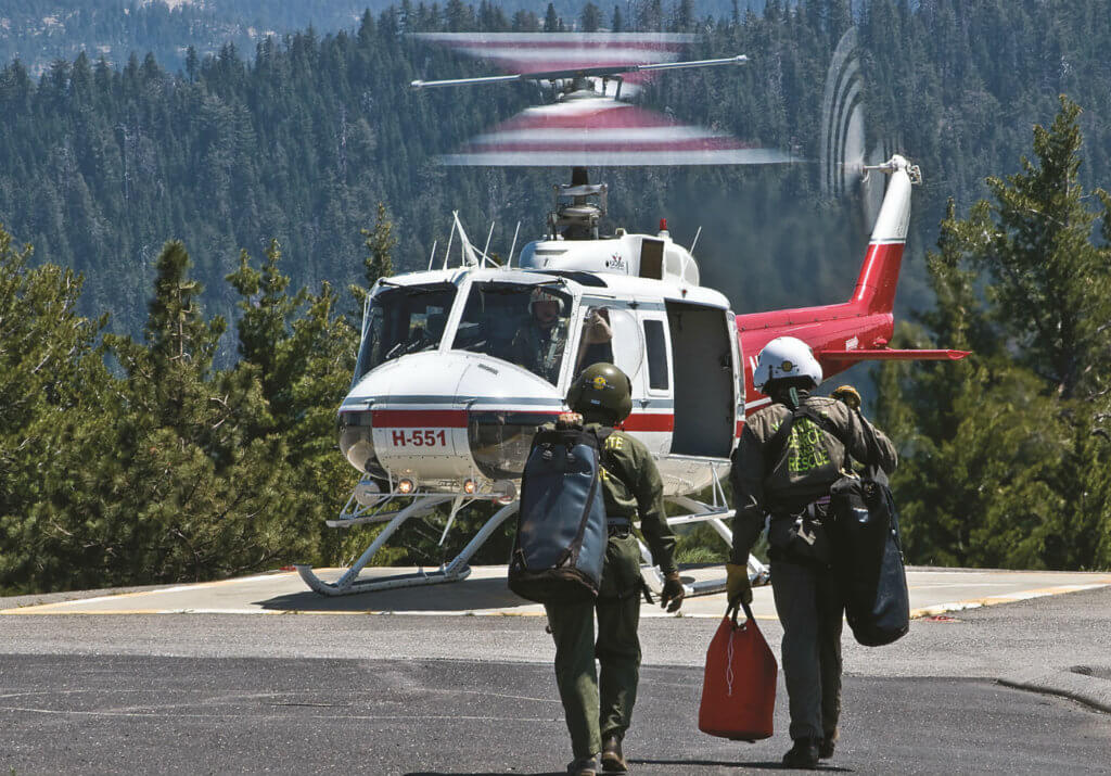 Regular training is critical to performing rescue missions safely and effectively.