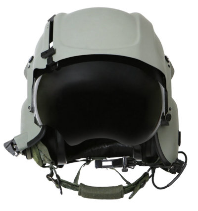The integrated helmet is a key component of the next generation Apache helicopter, the AH-64E, which will be flown by more than 15 countries. Gentex Photo