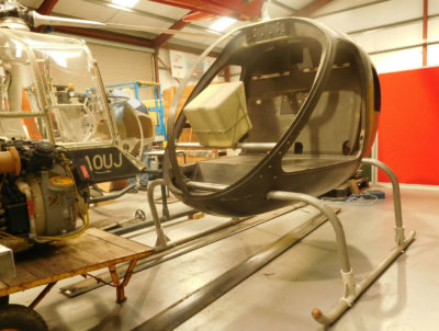 Both aircraft will be rebuilt in the museum's restoration facility. Helicopter Museum Photo