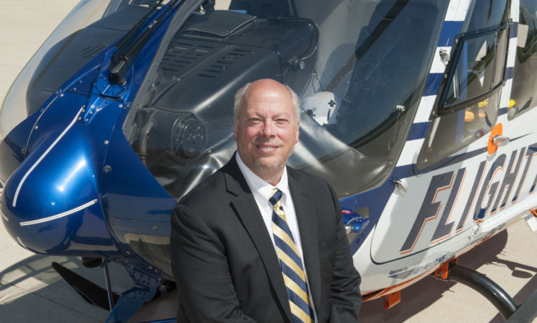 Dan Burns will be replacing program director Jim Singer, who retired in March after 31 years with Flight For Life. Flight For Life Transport System Photo