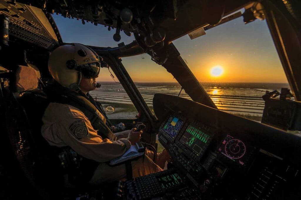 The CBP's Air and Marine Operations has a fleet of around 240 aircraft, including six different helicopter types -- providing plenty of opportunities for pilots to transition between aircraft if they so choose. Edwin Montufar Photo