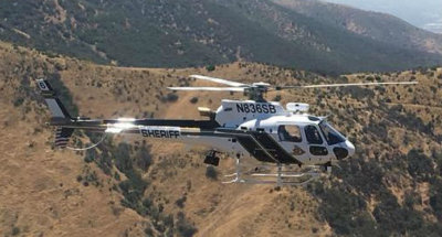 The new aircraft are part of a long-term plan to update San Bernandino's fleet of six AS350 B3 helicopters, an earlier model of the AStar. Airbus Photo