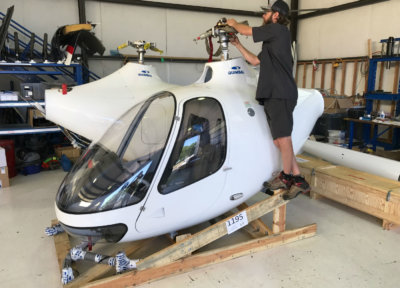This new addition enables the company to operate the first Guimbal Cabri G2 helicopter in Southern California, with an additional aircraft on request. Revolution Aviation Photo