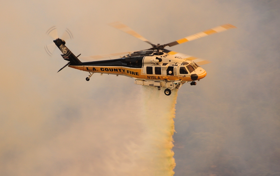 The L.A. County Fire Department currently operates three Sikorsky S-70A Firehawks, which will soon be supplemented by two brand new S-70i helicopters. Skip Robinson Photo