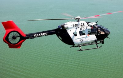 Las Vegas Metropolitan Police Department (LVMPD) H145 in flight