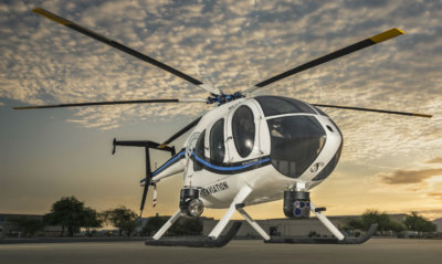 MD Helicopters showed, for the second consecutive year, tremendously improved ratings across all measured customer support categories in Vertical Magazine's Annual Helicopter Manufacturers Survey. MD Helicopters Photo