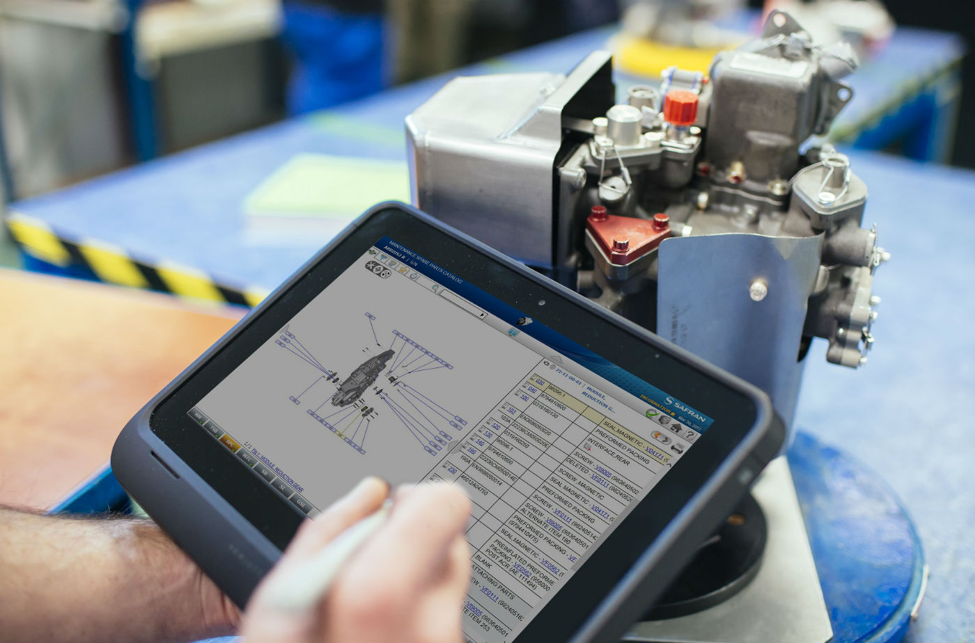 Web IETP has been developed to improve both access to technical documentation and the overall customer experience. Safran Photo