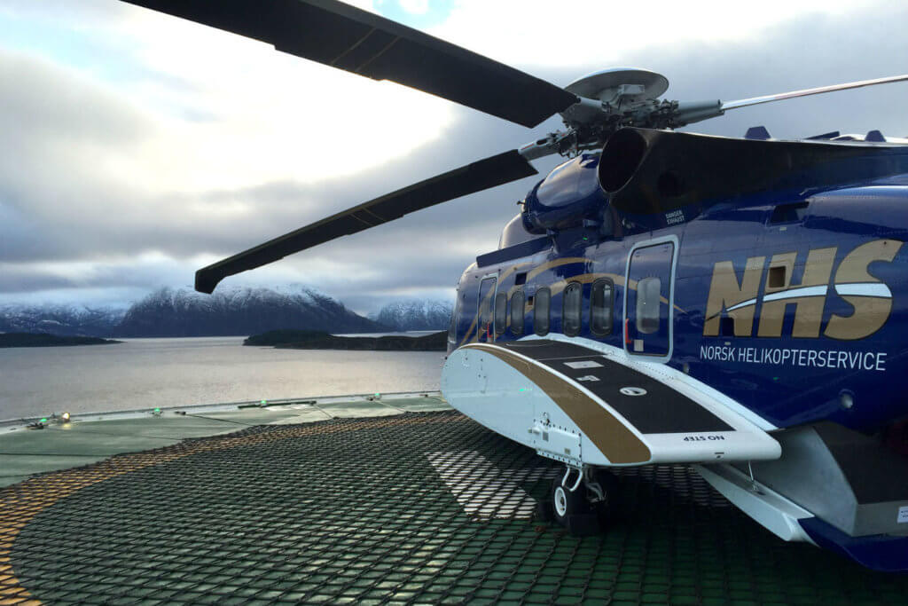 Operations carried out by Norsk Helikopterservice AS ceased on June 30, 2017. Norsk Photo