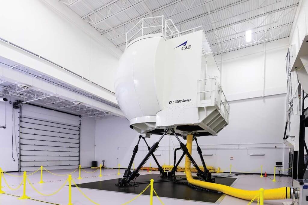 CAE was the first to produce what is now known as a Level D full-flight simulator in 1982. It has deployed more than 20 FFS for helicopters. Heath Moffatt Photo