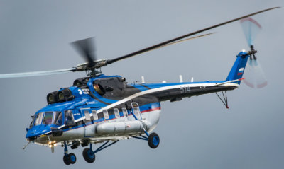 Russian Helicopters recently demonstrated its Mi-171A2 at MAKS 2017. The aircraft has now received a Russian type certificate, opening the door for commercial deliveries. Amit Agronov Photo