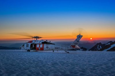 A Sikorsky MH-60S sits on top of the world. Photo submitted by Instagram user @cpitcher756 using hashtag #verticalmag