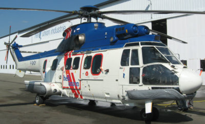 As of August 2017, Héli-Union is the only company that has been approved by EASA to apply such LPV capability on AS332 L1 type helicopters. Héli-Union Photo
