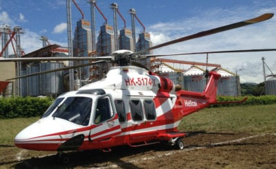 The AW139 is used in support of contracts within the offshore oil-and-gas sector in Colombia. This is Waypoint's first lease transaction with HELICOL and first in Colombia. Helicol Photo