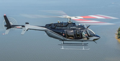 The new Bell 407GXP helicopters will be used for offshore logistics support, maritime and coastal surveillance, emergency medical services and search-and-rescue. Bell Photo