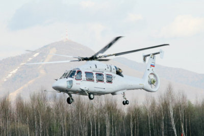 There are now two Ka-62 prototypes, with a third expected to enter testing in 2018. Russian Helicopters Photo