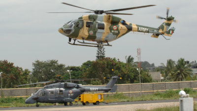 The contract for 41 Advanced Light Helicopters will be executed over 60 months. HAL Photo