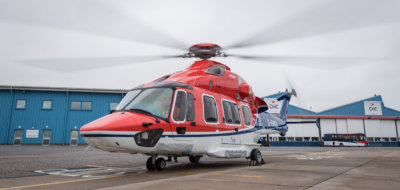 CHC has designated its Aberdeen base as its global H175 engineering centre of excellence to support the introduction of the aircraft to its fleet. Michal Wachucik Photo