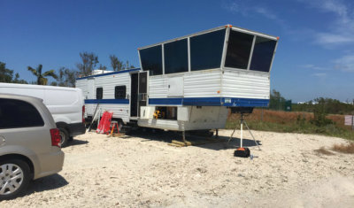 The Federal Aviation Administration has brought a mobile air traffic control tower to Key West International Airport in the wake of Hurricane Irma. FAA Photo