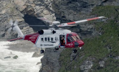 Bristow Helicopters operates S-92s on behalf of the UK Maritime and Coastguard Agency. Bob Sharples Photo