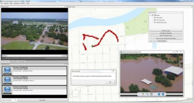 LineVision lets emergency response teams easily map drone video of Hurricane Harvey damage assessments. Remote GeoSystems Press Release