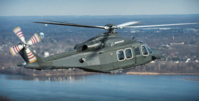 Boeing has submitted a proposal to the U.S. Air Force to provide up to 84 MH-139 helicopters to protect the country's intercontinental ballistic missiles and for domestic military transport needs. Boeing Photo