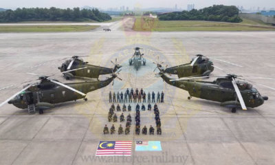 The first Royal Malaysian Air Force S-61arrived in Malaysia in late 1967, and the type has been in continuous service in the country ever since. RMAF Photo
